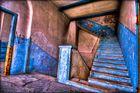 Die Treppe im Geisterschloss