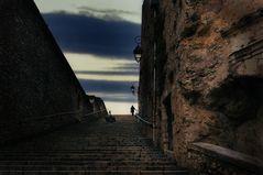 Die Treppe in Blois