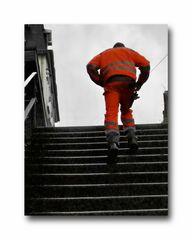 Die Treppe in Hammerstein-Mitte (es geht aufwärts)