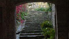 Die Treppe zum Neuen Jahr