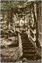 Die Treppe zum oberen WF Murrhardt