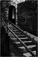 die Treppe zum Turm