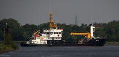 """Die """"Triton"""" wird in die Werft """"Saatsee"""" bugsiert"""