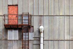 Die Tür am Walzwerk