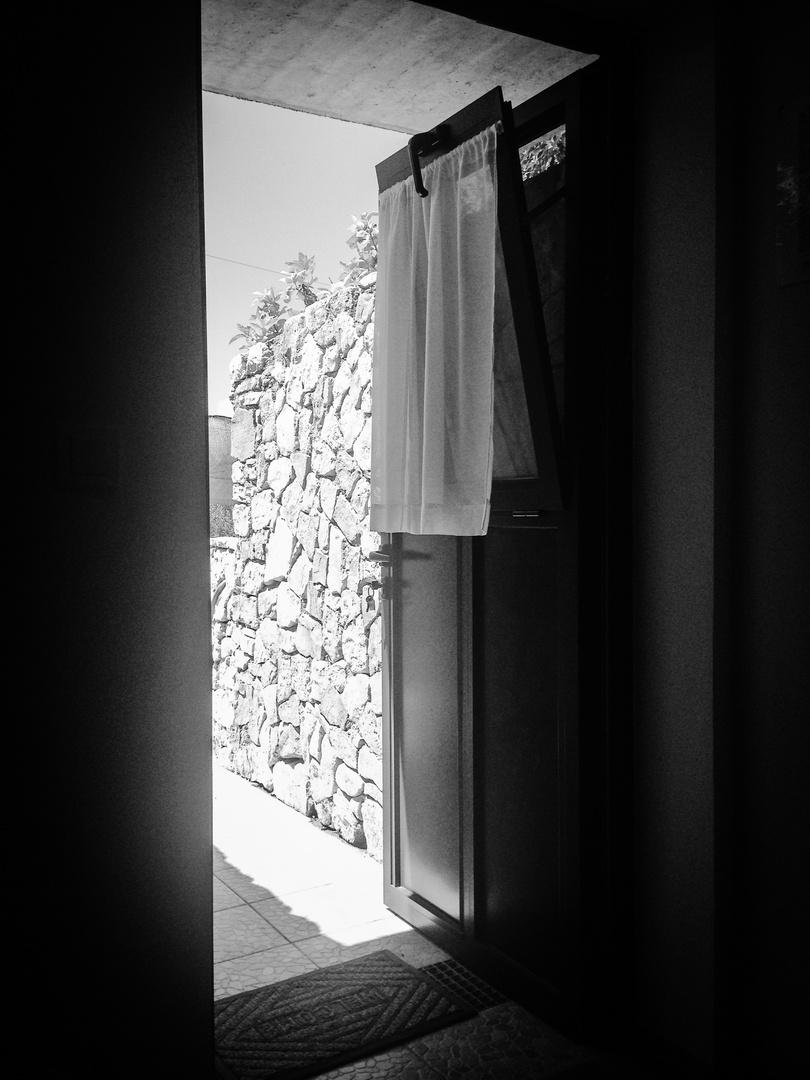 Die Tür ist offen