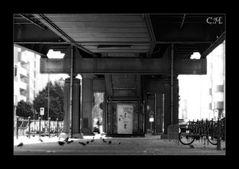 Die Tür zum Kottbusser Tor