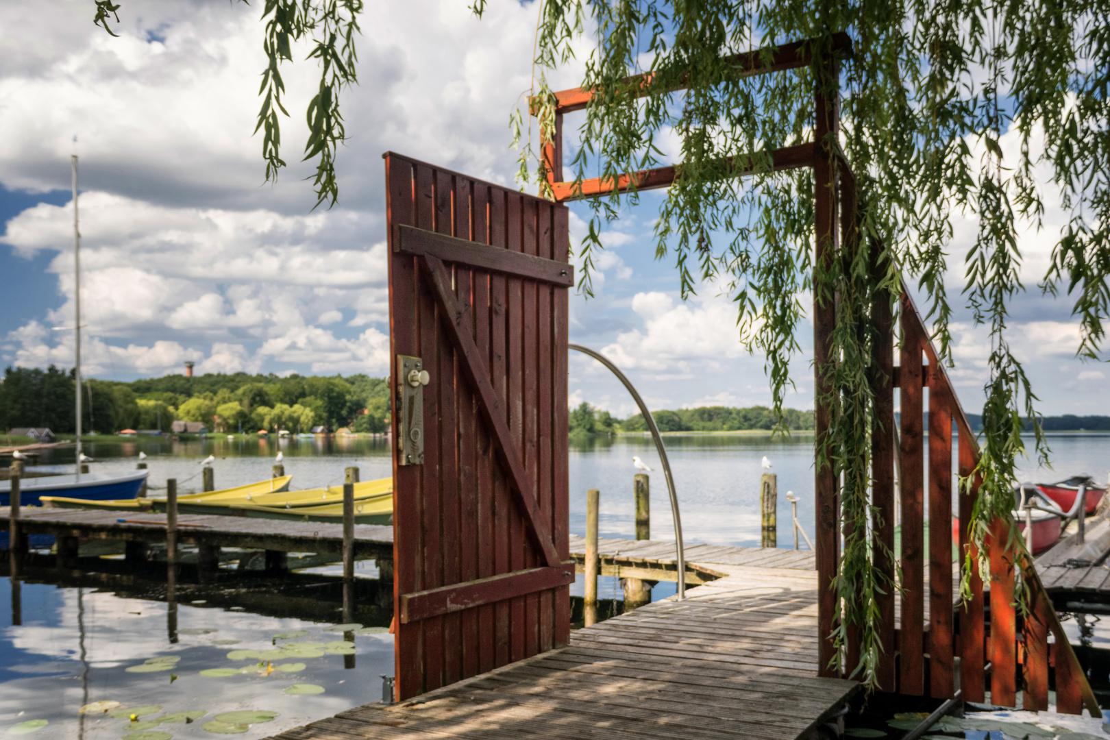 die Tür zum See