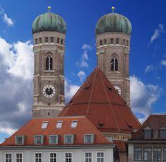 Die Türme der Frauenkirche