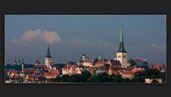 Die Türme von Tallinn