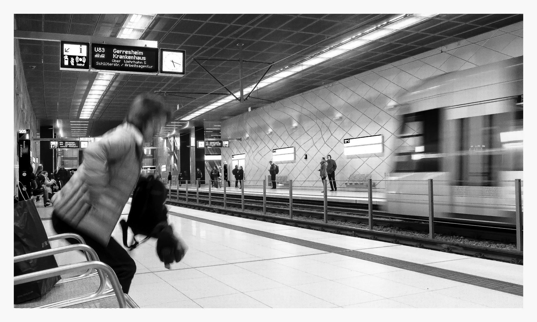 Die U-Bahn kommt ...