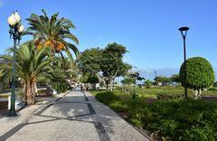 Die Uferpromenade von Funchal auf Madeira