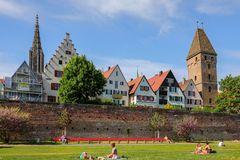 Die Ulmer Stadtmauer