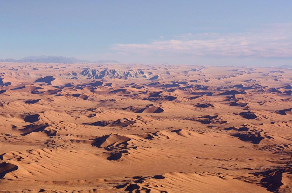 Die Unendlichkeit in Namibia.