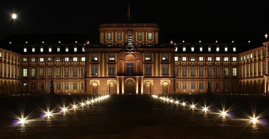 Die Uni in Mannheim