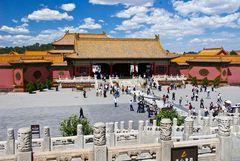 """Die """"Verbotene Stadt"""" in Peking"""