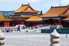 """Die """"Verbotene Stadt"""" in Peking...."""