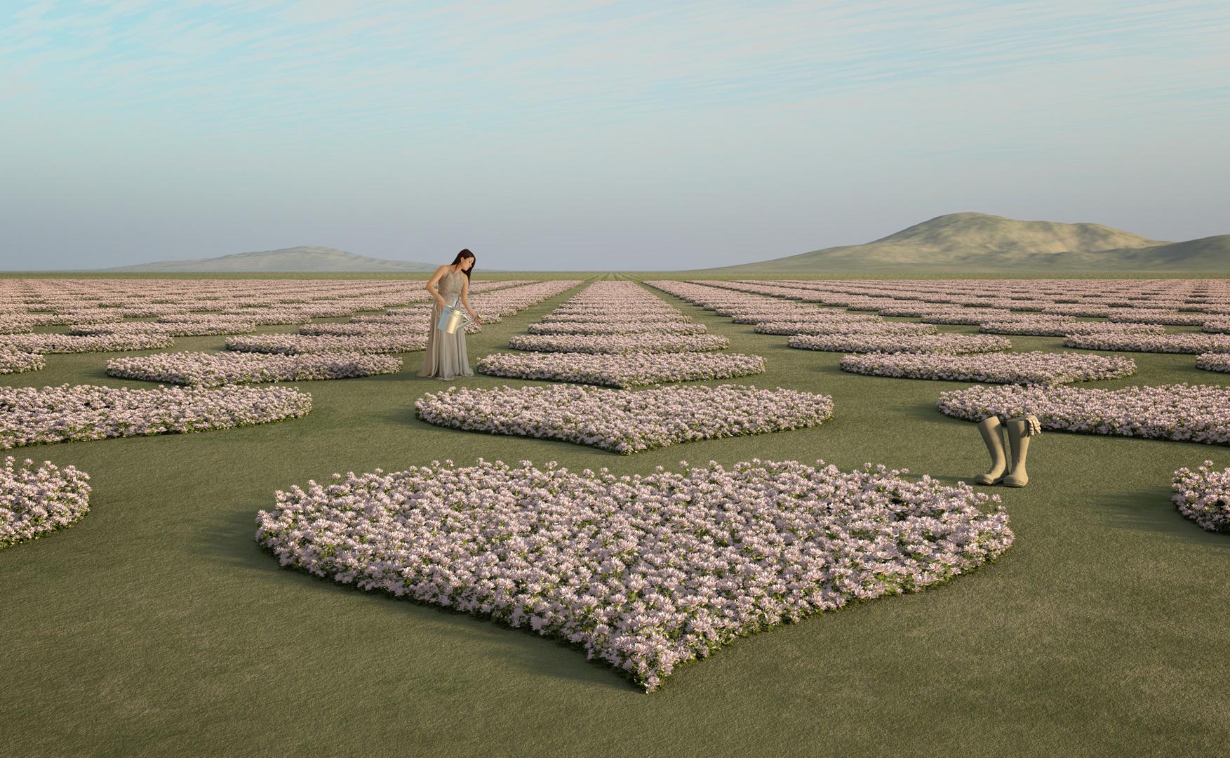 die verliebte Gärtnerin