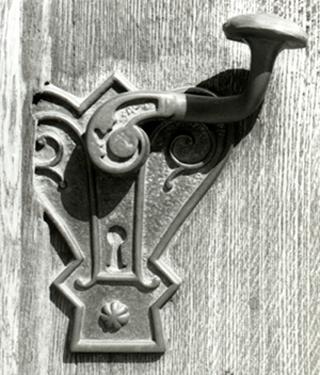 Die verriegelte Tür