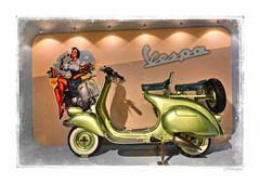 - die Vespa, mehr als ein Roller -