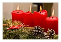 Die vierte Kerze brennt