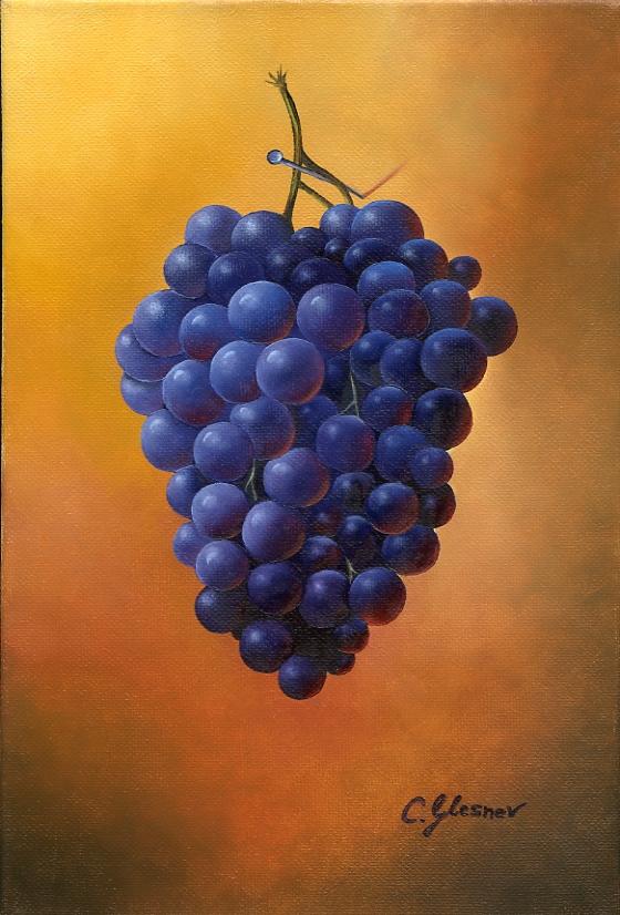 Die violetten Trauben nach Herdin