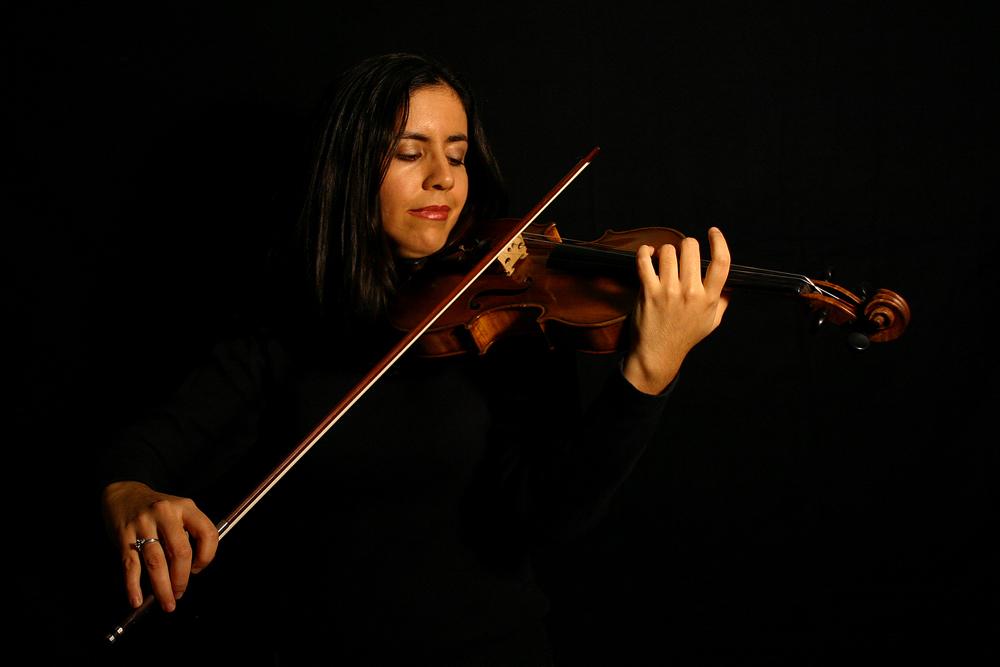 Die Violinistin