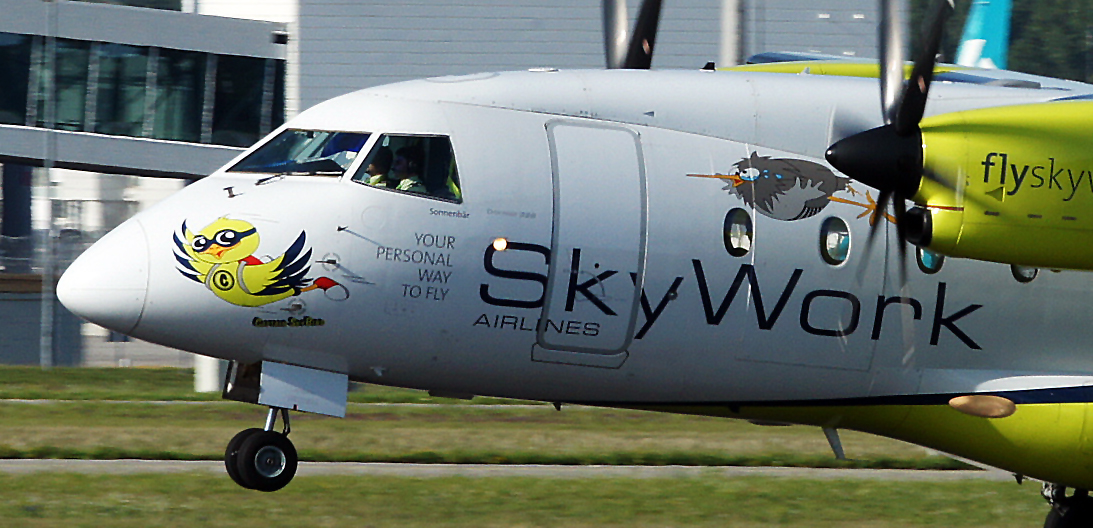 ... die von Skyworks, sind ja ne lustige Airline !