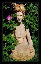 die Wächterin im Lebensgarten...