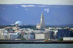 Die Wahrzeichen von Reykjavik