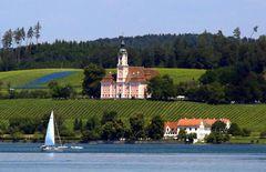 Die Wallfahrtskirche am Bodensee