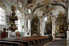 """Die Wallfahrtskirche """"Maria Hilf"""" in Klosterlechfeld"""