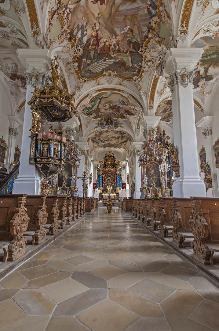 Die Wallfahrtskirche Violau bei Augsburg