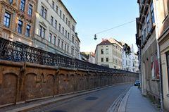 Die Wallstraße in Altenburg