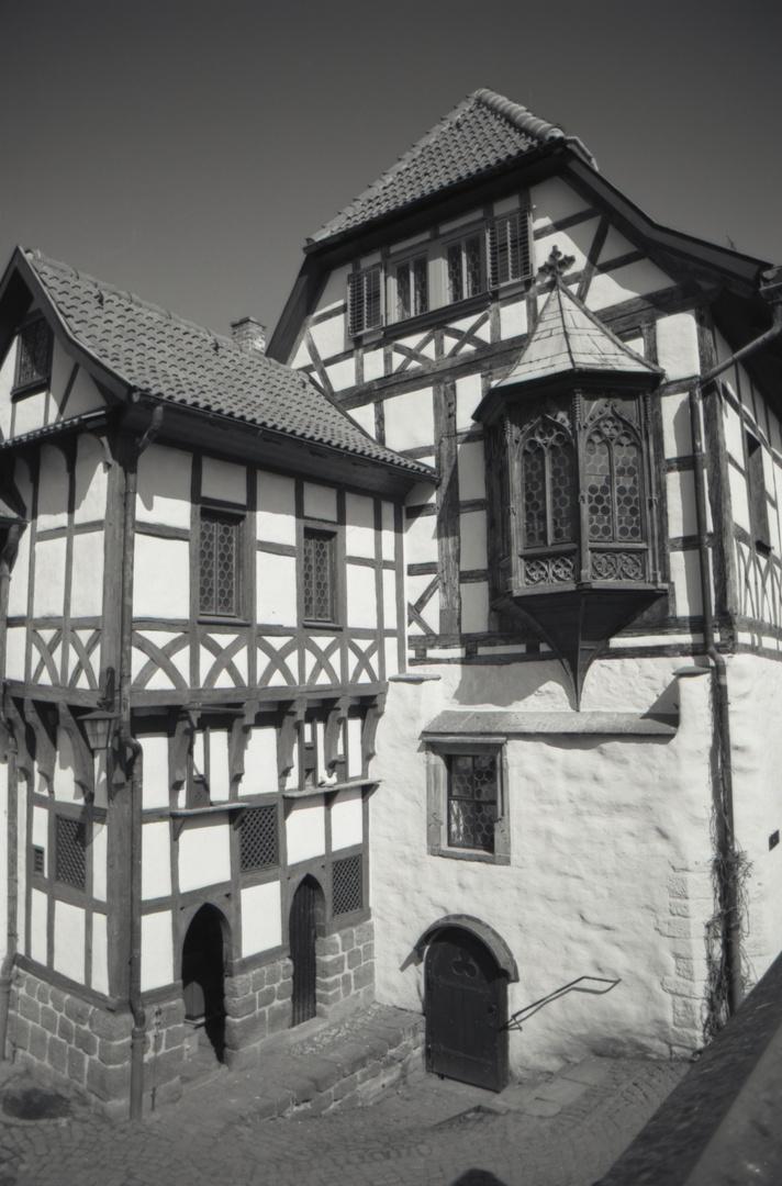 Die Wartburg Innenhof
