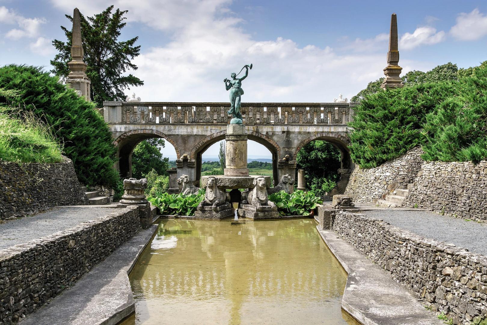 Die Wasserachse der Roseburg (2)
