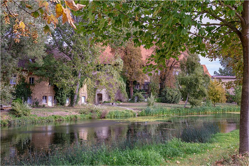 Die Wasserburg in Egeln