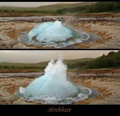 Die Wasserglocke des Strokkur