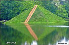 Die Wasserpyramide am 12.05.2018