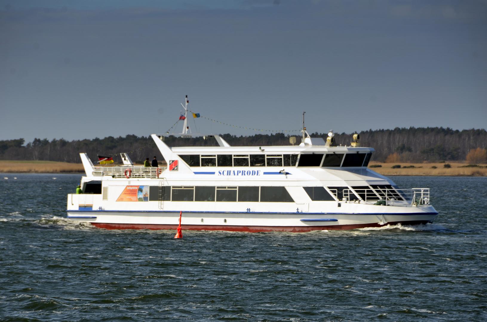 die Weiße Flotte Hiddensee