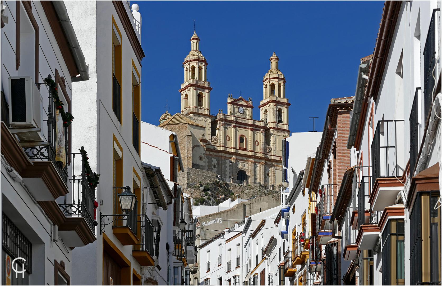 Die weiße Stadt Olvera