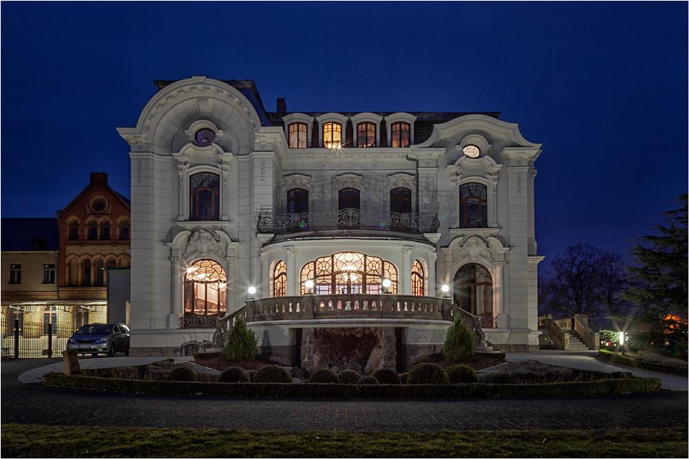 Die weisse Villa in Aschersleben