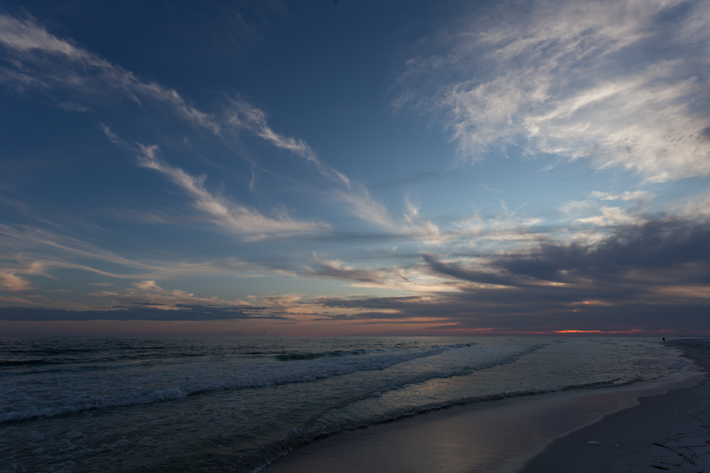 die Weite am Strand