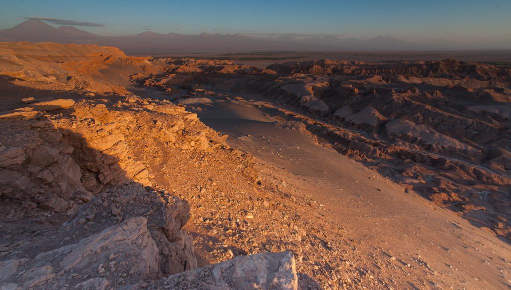 Die Weite der Atacama Wüste...