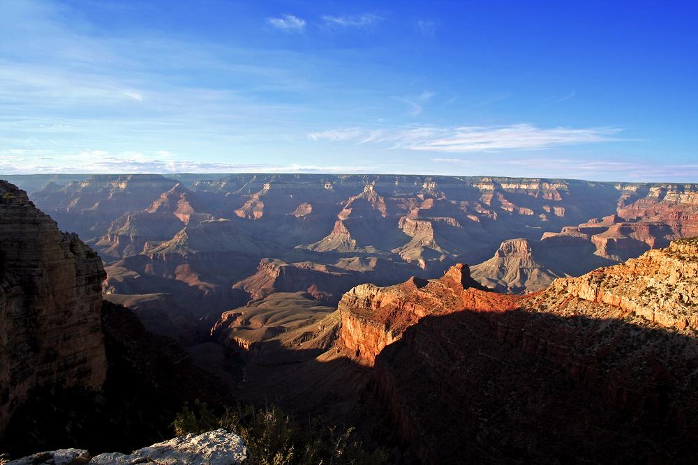 Die Weite des Canyons