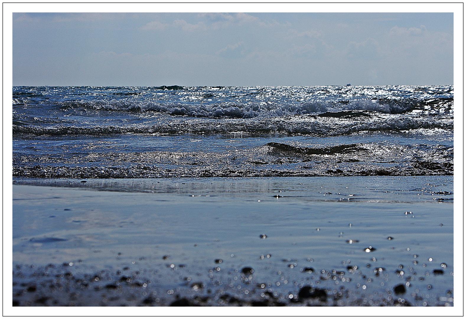 Die Welle und das Boot