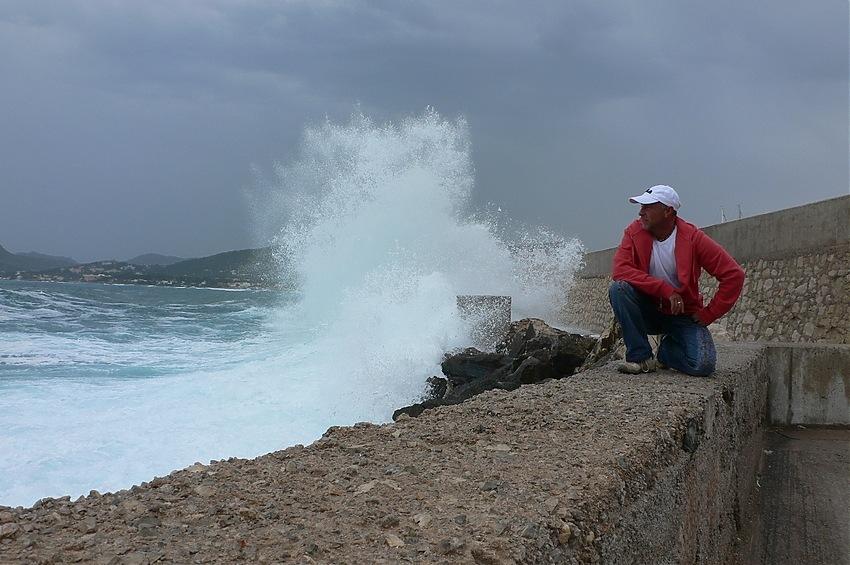 Die Welle von Cala Rajada...