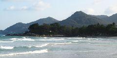 Die Wellen von Ko Samui