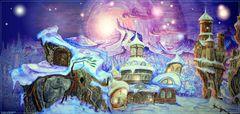 Die Welt des geheimnisvollen Schneekristalls