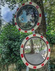 Die Welt im Spiegel