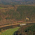 Die Wettfahrt bei der Elbe mit ungleichen Voraussetzungen...